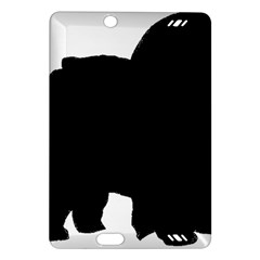 Chow Chow Silo Black Amazon Kindle Fire HD (2013) Hardshell Case
