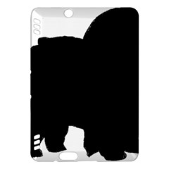 Chow Chow Silo Black Kindle Fire HDX Hardshell Case