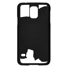 Chow Chow Silo Black Samsung Galaxy S5 Case (Black)