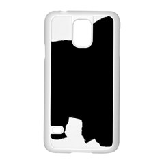 Chow Chow Silo Black Samsung Galaxy S5 Case (White)