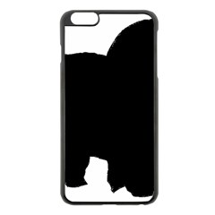 Chow Chow Silo Black Apple iPhone 6 Plus/6S Plus Black Enamel Case