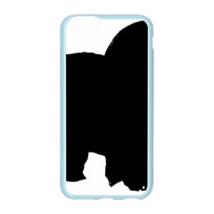 Chow Chow Silo Black Apple Seamless iPhone 6/6S Case (Color)