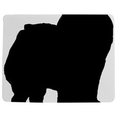 Chow Chow Silo Black Jigsaw Puzzle Photo Stand (Rectangular)