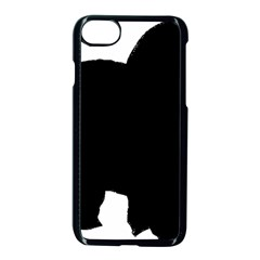 Chow Chow Silo Black Apple iPhone 7 Seamless Case (Black)