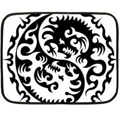 Ying Yang Tattoo Fleece Blanket (Mini)