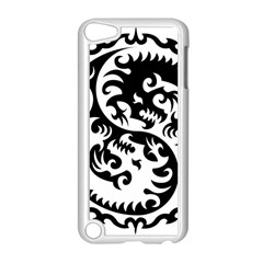 Ying Yang Tattoo Apple iPod Touch 5 Case (White)