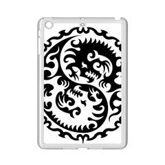 Ying Yang Tattoo iPad Mini 2 Enamel Coated Cases