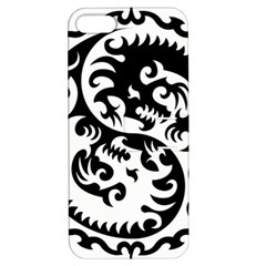 Ying Yang Tattoo Apple iPhone 5 Hardshell Case with Stand