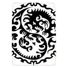 Ying Yang Tattoo Flap Covers (S)