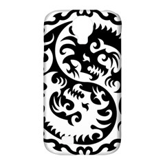 Ying Yang Tattoo Samsung Galaxy S4 Classic Hardshell Case (PC+Silicone)