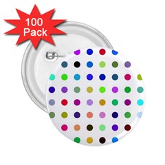 Circle Pattern  2.25  Buttons (100 pack)