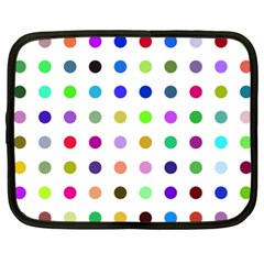 Circle Pattern  Netbook Case (XXL)