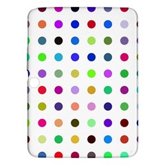 Circle Pattern  Samsung Galaxy Tab 3 (10.1 ) P5200 Hardshell Case