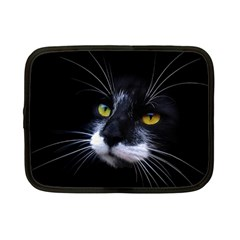 Face Black Cat Netbook Case (Small)