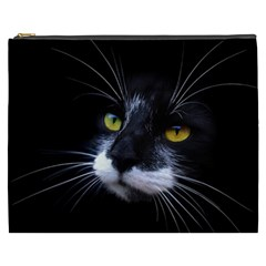 Face Black Cat Cosmetic Bag (XXXL)