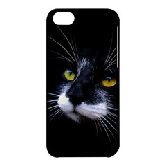 Face Black Cat Apple iPhone 5C Hardshell Case