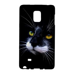 Face Black Cat Galaxy Note Edge