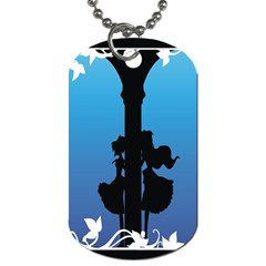 Strawberry Panic Dog Tag (One Side)