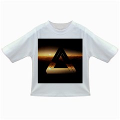 Triangle Penrose Clouds Sunset Infant/Toddler T-Shirts
