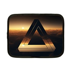 Triangle Penrose Clouds Sunset Netbook Case (Small)