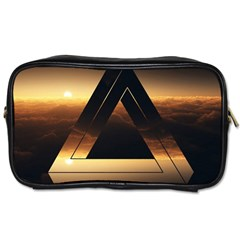Triangle Penrose Clouds Sunset Toiletries Bags 2-Side