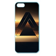 Triangle Penrose Clouds Sunset Apple Seamless iPhone 5 Case (Color)