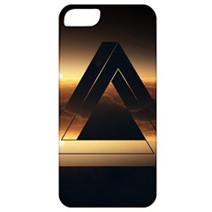 Triangle Penrose Clouds Sunset Apple iPhone 5 Classic Hardshell Case