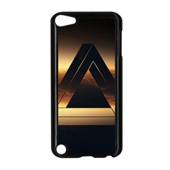 Triangle Penrose Clouds Sunset Apple iPod Touch 5 Case (Black)
