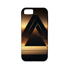 Triangle Penrose Clouds Sunset Apple iPhone 5 Classic Hardshell Case (PC+Silicone)