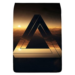Triangle Penrose Clouds Sunset Flap Covers (S)