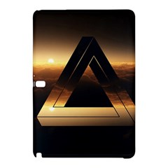 Triangle Penrose Clouds Sunset Samsung Galaxy Tab Pro 10.1 Hardshell Case