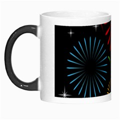 Fireworks With Star Vector Morph Mugs