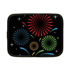 Fireworks With Star Vector Netbook Case (Small)