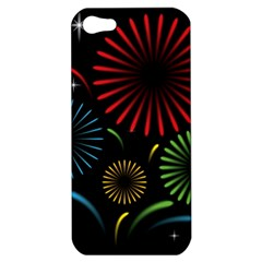 Fireworks With Star Vector Apple iPhone 5 Hardshell Case
