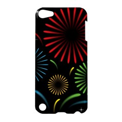 Fireworks With Star Vector Apple iPod Touch 5 Hardshell Case