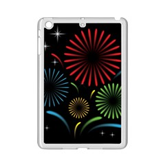 Fireworks With Star Vector iPad Mini 2 Enamel Coated Cases