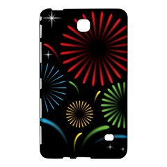 Fireworks With Star Vector Samsung Galaxy Tab 4 (8 ) Hardshell Case