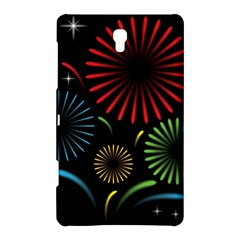 Fireworks With Star Vector Samsung Galaxy Tab S (8.4 ) Hardshell Case