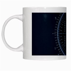 Minimalistic Knowledge Mathematics Trigonometry White Mugs