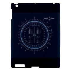 Minimalistic Knowledge Mathematics Trigonometry Apple iPad 3/4 Hardshell Case