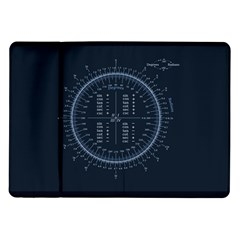 Minimalistic Knowledge Mathematics Trigonometry Samsung Galaxy Tab 10.1  P7500 Flip Case