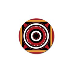 Toraja Pattern Pa barre Allo Golf Ball Marker