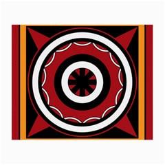 Toraja Pattern Pa barre Allo Small Glasses Cloth (2-Side)