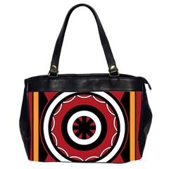 Toraja Pattern Pa barre Allo Office Handbags (2 Sides)