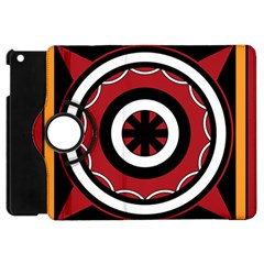Toraja Pattern Pa barre Allo Apple iPad Mini Flip 360 Case