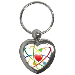 Love Key Chains (Heart)