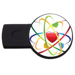 Love USB Flash Drive Round (4 GB)