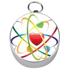 Love Silver Compasses