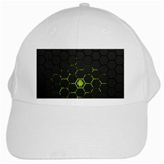 Green Android Honeycomb  White Cap