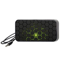 Green Android Honeycomb  Portable Speaker (Black)